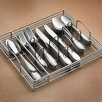 Hampton Forge Lincoln 66-pc. Dinnerware Set with Wire Caddy
