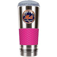 New York Mets 24-Ounce Draft Stainless Steel Tumbler