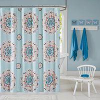 INK+IVY Kids Hana Printed Shower Curtain