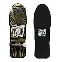 Vision Original Gold 31-Inch Swirl Graphic Skateboard