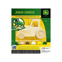 Masterpieces Puzzle John Deere Tractor Wood Painting Kit