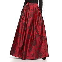 Women's Jessica Howard Pleated Floral Ball Skirt