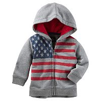 Baby Boy OshKosh B'gosh® American Flag Graphic Hoodie