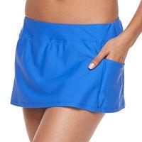Women's Splashletics Solid Skirtini Bottoms