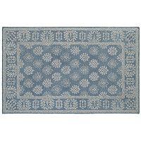 Oriental Weavers Manor Bordered Medallion Wool Rug