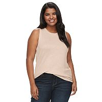 Juniors' Plus Size Mudd® Muscle Tank Top