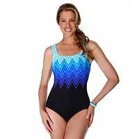 Women's Reebok Electric Lightening One-Piece Swimsuit