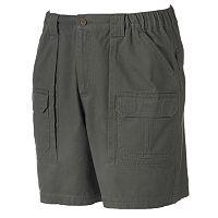 Big & Tall Croft & Barrow® Side Elastic Cargo Shorts