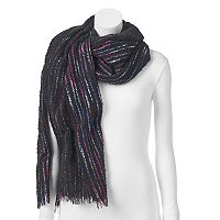 Juicy Couture Striped Knit Scarf