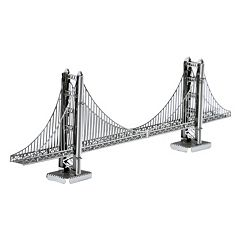 Metal Earth 3D Laser Cut Model Golden Gate Bridge Kit by Fascinations by