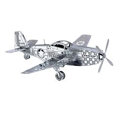 Metal Earth 3D Laser Cut Model P-51 Mustang Kit by Fascinations by