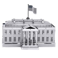 Metal Earth 3D Laser Cut Model White House Kit by Fascinations by