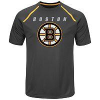 Men's Majestic Boston Bruins Toe Drag Tee