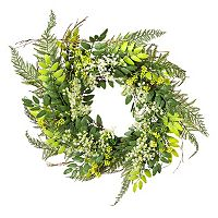 Darice Artificial Baby Breath & Twig Wreath