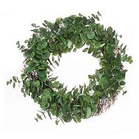 Darice 24-in. Artificial Eucalyptus Wreath