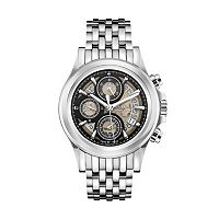Bulova Men's Accu Swiss Automatic Stainless Steel Watch - 63B170