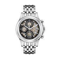 Bulova Men's Accu Swiss Automatic Stainless Steel Watch - 63B170