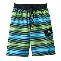 Boys 8-20 adidas Energy Striped Board Shorts