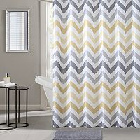 VCNY Chevron Bath Super Set (Yellow / Blue)