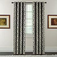 Arlee Window Accents Batik Print Ikat Curtain
