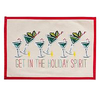 Tommy Bahama Holiday Spirit Placemat