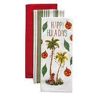 Tommy Bahama Happy Huladays Kitchen Towel 3-pk.