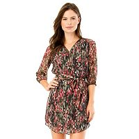 Juniors' IZ Byer California Zippered Shift Dress