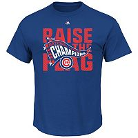 Men's Majestic Chicago Cubs 2016 National League Champions Tee