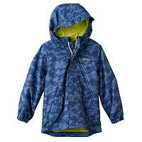 Boys 4-7 OshKosh B'gosh® Shark Pattern Lightweight Rain Jacket