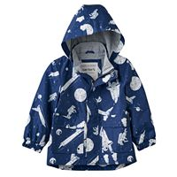 Toddler Boy Carter's Lightweight Outer Space Rain Jacket
