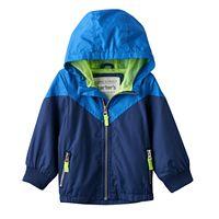 Toddler Boy Carter's Colorblock Hooded Lightweight Jacket