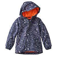 Toddler Boy OshKosh B'gosh® Shark Pattern Lightweight Rain Jacket