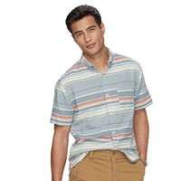Men's Urban Pipeline® Baja Striped Button-Down Shirt