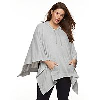 Plus Size French Laundry Poncho Hoodie