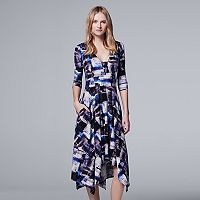 Women's Simply Vera Vera Wang Print A-Line Dress