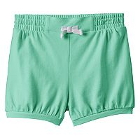 Baby Girl Jumping Beans® Solid Bubble Shorts