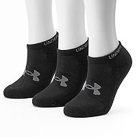 Women's Under Armour 3-pk. HeatGear No-Show Socks