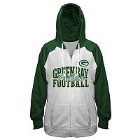 Plus Size Majestic Green Bay Packers Spark Hoodie