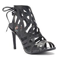 NYLA Sanrain Women's High Heel Sandals