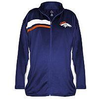Plus Size Majestic Denver Broncos Fleece Jacket