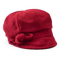 Women's Betmar Adele Knotted Bow Newsboy Hat