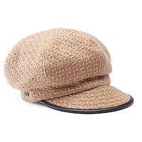 Women's Betmar Caron Patterned Cadet Hat