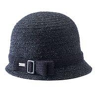 Women's Betmar Maya Buckle Knit Cloche Hat