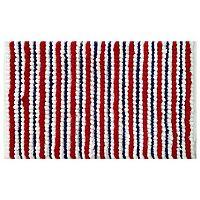 Americana Stripe Bath Rug