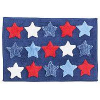 Americana Stars Bath Rug