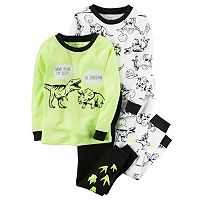 Toddler Boy Carter's Dino Tee & Pants Pajama Set