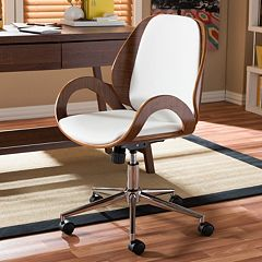 Baxton Studio Watson Faux Leather Office Chair by