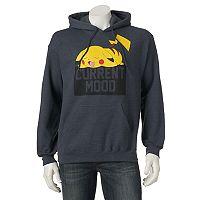 Men's Pokemon Pikachu Fleece Pullover Hoodie