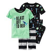Toddler Boy Carter's Outerspace 4-pc. Pajama Set
