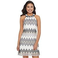 Juniors' Candie's ® Halter Lace Shift Dress